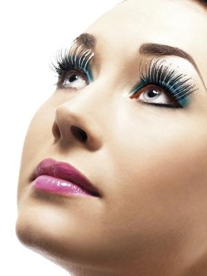 Eyelashes, Silver, Holographic