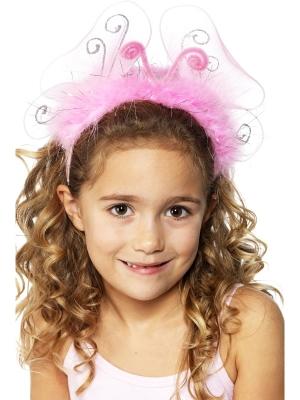Pink Flashing Headband