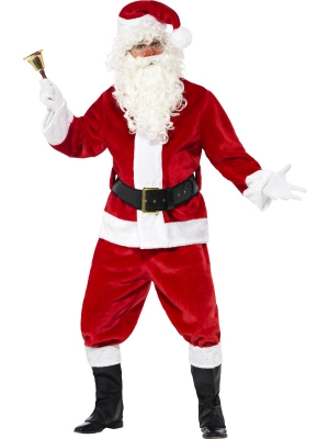 Plush Santa Suit Costume