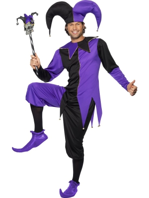 Medieval Jester Costume