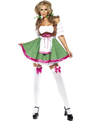 Fever Flirty Fraulein Costume