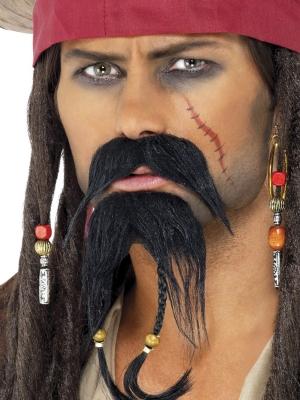 Pirāta bārda ar ūsām