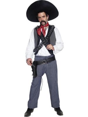 Meksikāņu bandīta kostīms