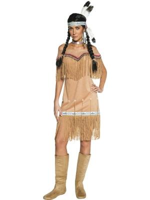 Indiānietes kostīms