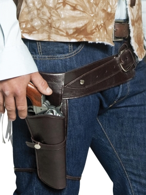 Western Gunman Belt and Holster