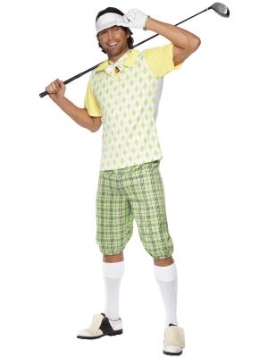 Golfa spēlētāja kostīms