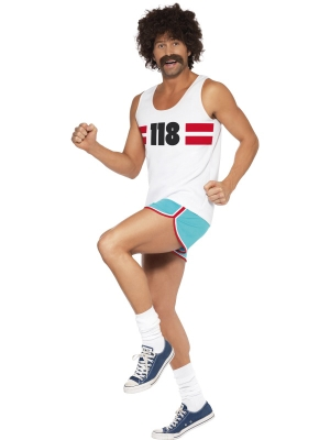 118 Male Runner Costume