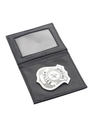 Кошелёк полицейского со значком