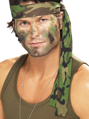 Армейская повязка на голову, 4 x 150 см