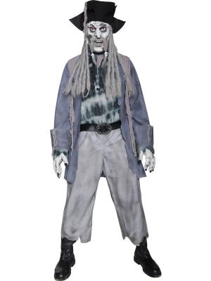 Zombija pirāta rēga kostīms