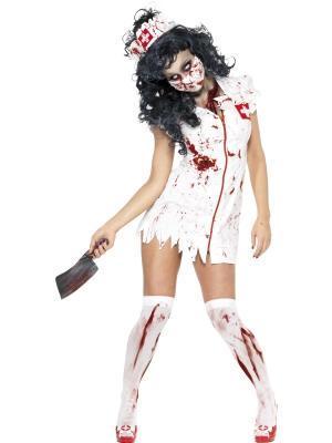 Zombija medmāsiņas kostīms