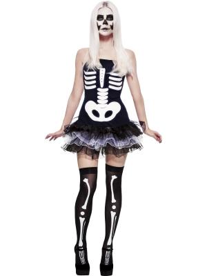 Skeleta kostīms