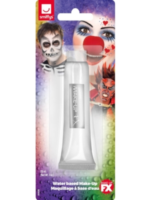 Белая крем краска для макияжа, 28 гр