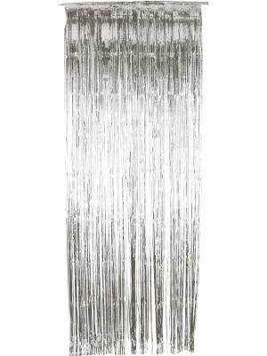 Lietutiņa aizskars, sudraba, 91 x 244 cm